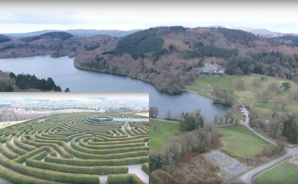 Castlewellan Forest Park and Peace Maze
